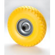 Neprepichnuteľné koliesko žlté 260mm
