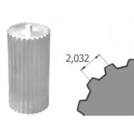 Ozubená tyč MXL Z=72/140 hliník