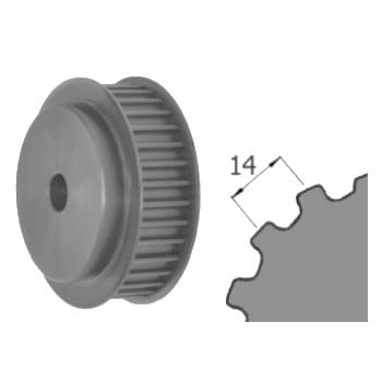 Ozubená remenica predvŕtaná STD-14M Z=084/040