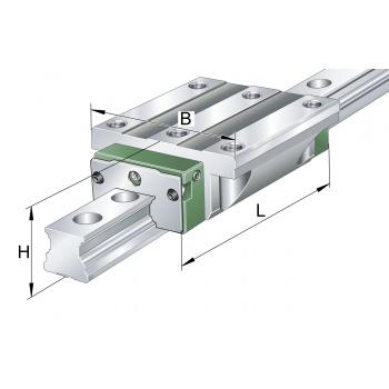 Vozík lineárneho vedenia RWU 25 E-H-G2-V3 INA