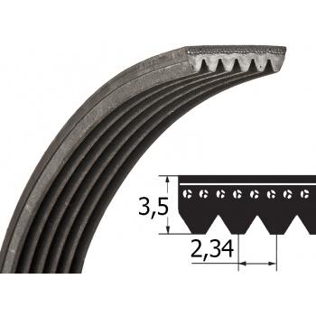 Drážkový remeň 5PJ 1254